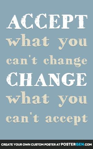 Accept Change Print