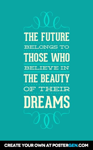 Custom Beauty Of Their Dreams Poster Maker