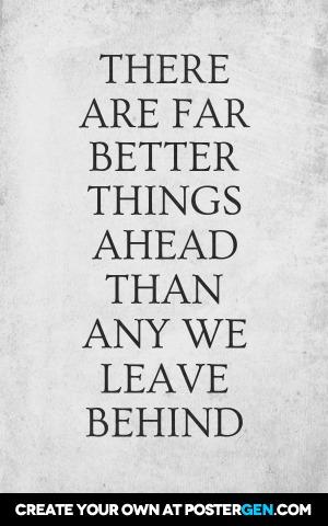 Better Things Ahead Print