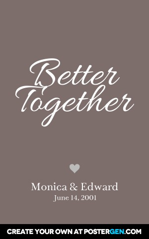 Better Together Print