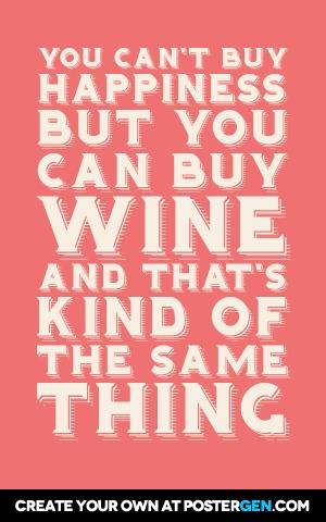 Can Buy Wine Print
