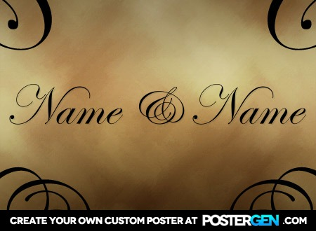 Classy poster maker love posters custom posters postergen