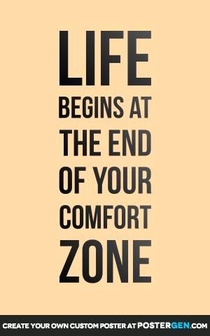 Comfort Zone Print