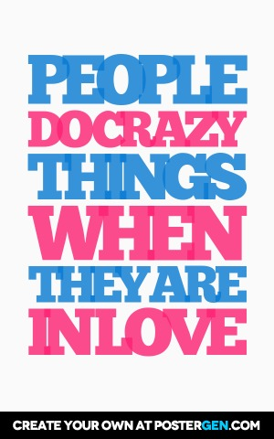 Crazy Things Print