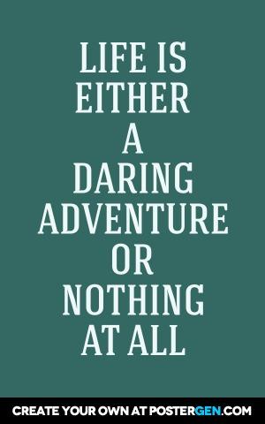 Daring Adventure Print