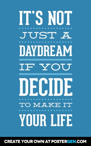 daydream poster maker quote posters custom posters postergen com