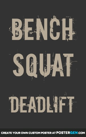 Deadlift Print