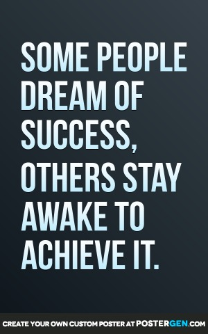 Dream Of Success Print