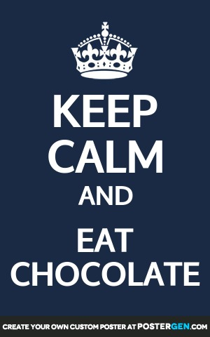 Eat Chocolate Print
