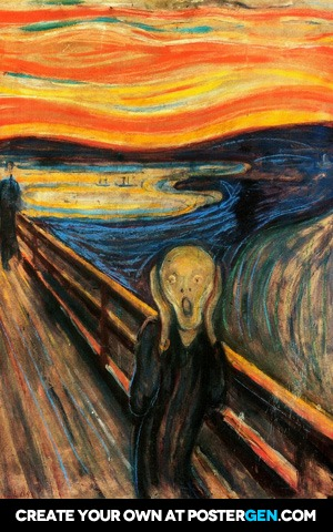 Edvard Munch - The Scream Print