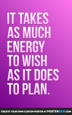Custom Energy To Wish Poster Maker