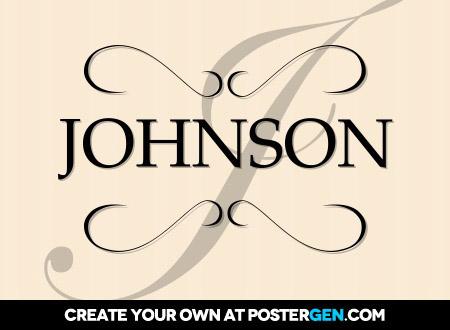 Formal Poster Generator