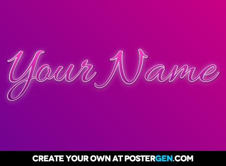 Custom Girls Poster Maker