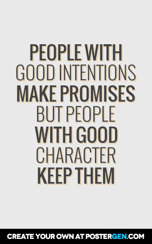Good Intentions Print