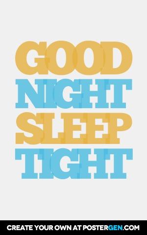 Good Night Print