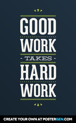 good work print quote posters posters postergen com