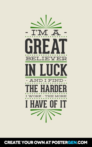 Picture Quote Maker Awesome Great Believer Poster Maker  Quote Posters  Custom Posters