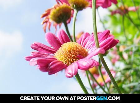 Happy Flowers Print