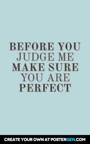 Judge Me Print