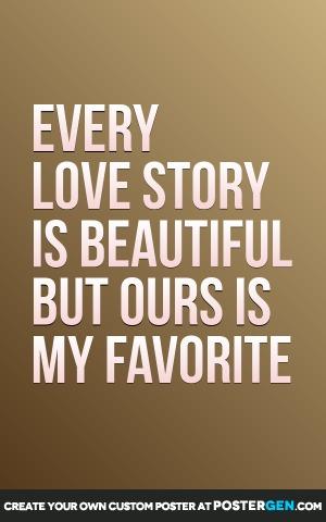 Love Story Print
