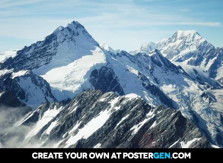 Mountain Peaks Print
