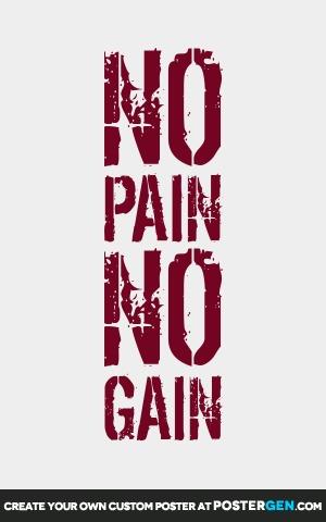 No Pain Print