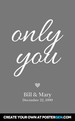 Only You Print
