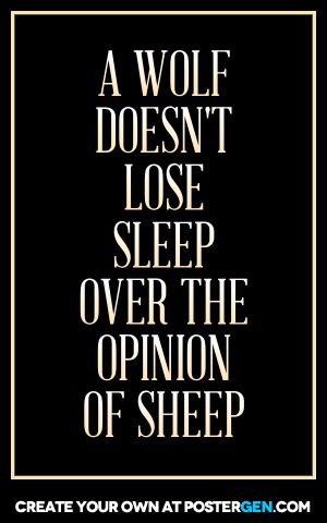 Opinion Of Sheep Print