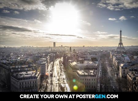 Paris In The Sun Print