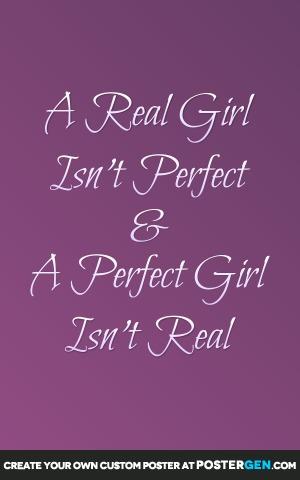 Real Girl Print