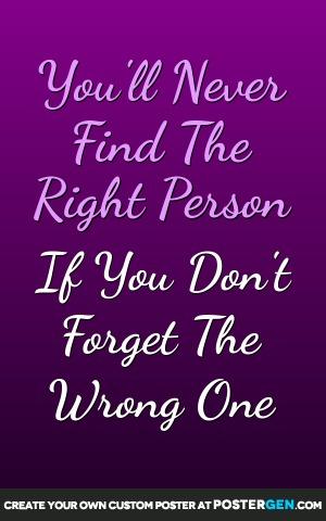 Right Person Print