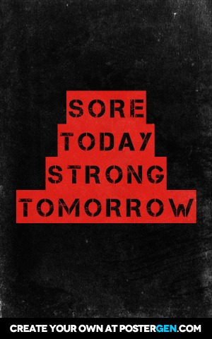 Sore Today Print