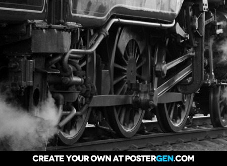 Steam Engine Print