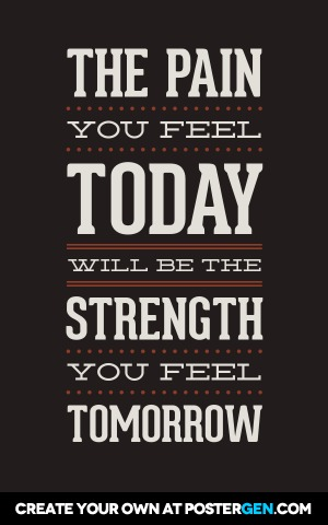 Strength Tomorrow Print