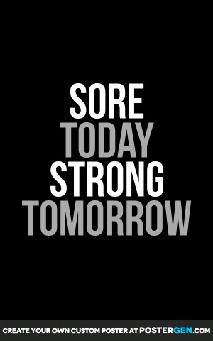 Strong Tomorrow Print