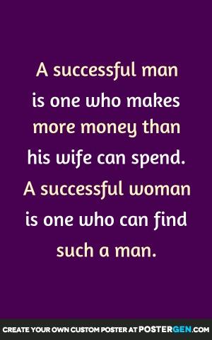 Successful Man Print