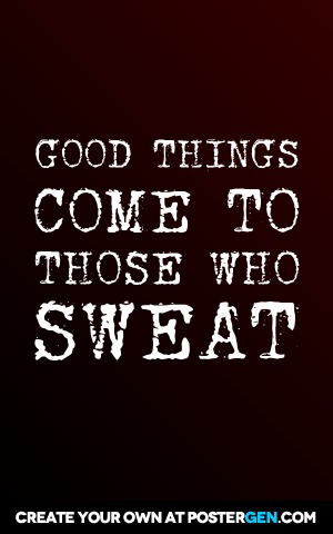 Sweat Print