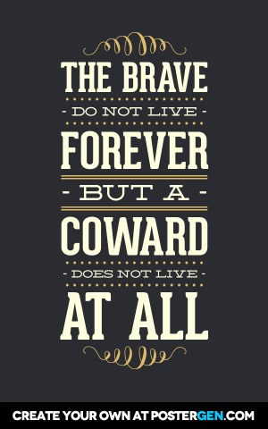Custom The Brave Poster Maker