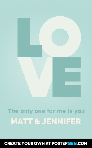The Only One For Me Is You
