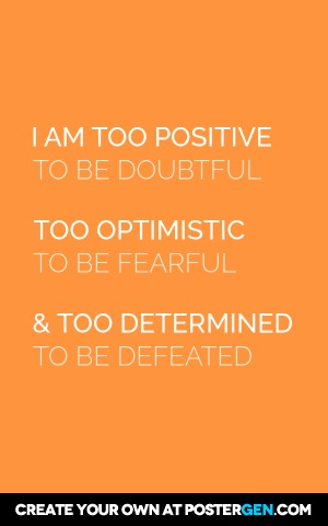 Too Positive Print