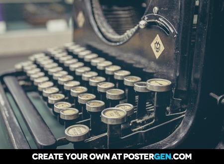 Typewriter Print