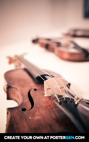 Violins Print