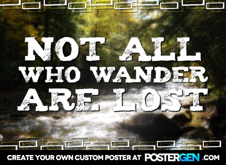 Custom Wander Poster Maker