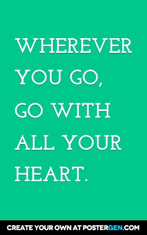 Wherever You Go Print