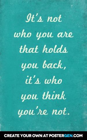 Who You Are Print