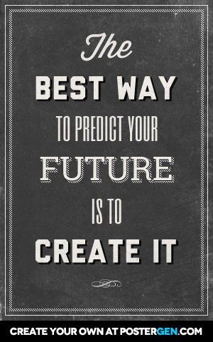 Custom Your Future Poster Maker