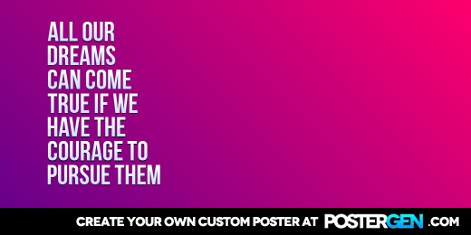 Custom All Our Dreams Twitter Cover Maker