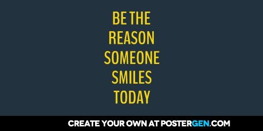 Custom Be The Reason Twitter Cover Maker