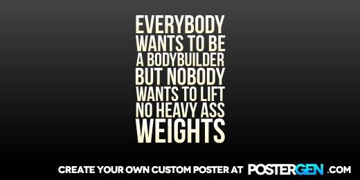 Custom Bodybuilder Twitter Cover Maker