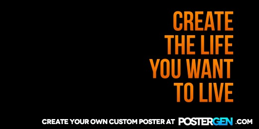 Custom Create The Life Twitter Cover Maker
